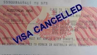 签证被撤销