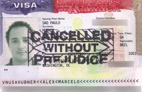 签证被取消