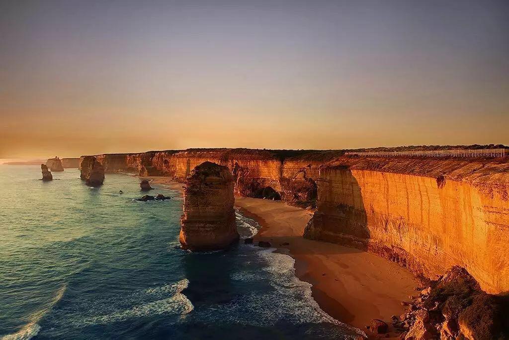 澳大利亚十二门徒景色